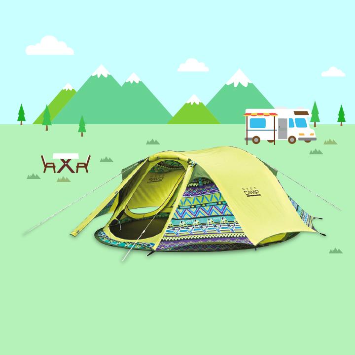 봄 캠핑 준비물