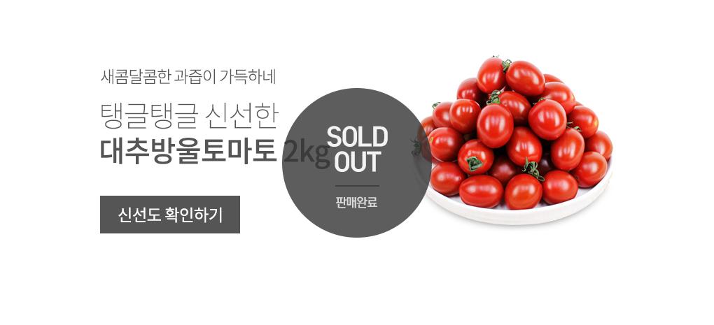 충남 부여 대추방울토마토 2kg 상품 바로가기