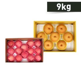 <em class='label_tv'>[TV쇼핑]</em> [맛보장제/총 9kg] 경북 사과 4kg+나주 배5kg