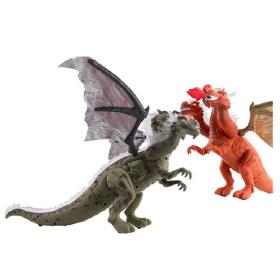 움직이는 공룡 장난감 쓰리헤드드래곤