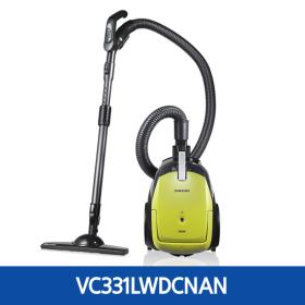 *삼성 트윈챔버 청소기 VC331LWDCNAN(집진방식(백레스트윈챔버)/Apple Metal Green)