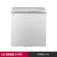 LG DIOS 뚜껑식 김치냉장고 K226AW11 (219L/아리아 화이트)