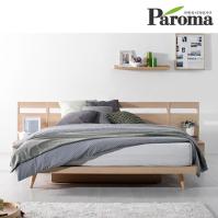 파로마 시나몬 B형 평상형 퀸(Q)침대(독립매트포함)