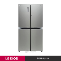 LG DIOS 상냉장 냉장고 F918SS33 (910L/샤이니 퓨어)