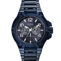 [Guess] 게스 남성 메탈 손목시계 W0218G4