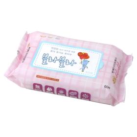 [BLABLA] 민감한 아기피부를 위한 블라블라 유기농 물티슈 (60매*10개)
