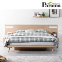 파로마 시나몬 A형 평상형 퀸(Q)침대(40T라텍폼스포함)