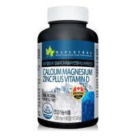 캐나다 메이플트리 칼슘마그네슘아연+비타민D 90정(3개월분)