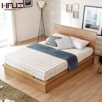 보루네오 하우스 라보떼 아몬드 평상형 침대 231 D (독립스프링 CL라텍스20T매트 포함)