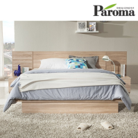 파로마 웰런 평상형 퀸(Q)침대(독립매트포함)