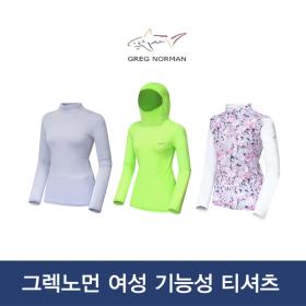 [그렉노먼]여성 냉감 골프티셔츠 이너웨어 골프웨어