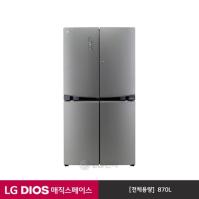 LG 디오스 DIOS 양문형냉장고 F877TS55 (매직스페이스/곡면글라스)
