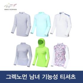 [그렉노먼]남녀 냉감 골프티셔츠 이너웨어 골프웨어