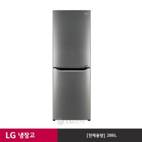 LG 상냉장 냉장고 M286SB (286L/샤인메탈)