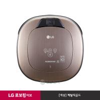 LG 로보킹 터보 로봇청소기 R76GIM (메탈릭골드/듀얼 아이)