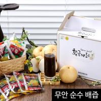 황금아리 무안 순수 배즙 50팩 선물세트