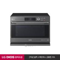 LG DIOS 광파오븐 ML32PW (블랙 스테인리스/광파듀얼히터)