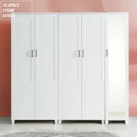 10SPACE 씨앤느 갤러리 2000 거울옷장 A세트 (400거울옷장+800옷장+800이불옷장)