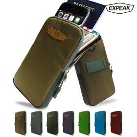 엑스피크 스마트폰 파우치 7컬러 스몰백 여권가방 폰케이스