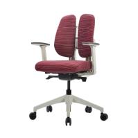[듀오텍스] DT-250W 화이트프레임 천연라텍스 의자
