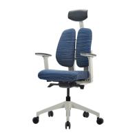 [듀오텍스] DT-200W 화이트프레임 천연라텍스 의자