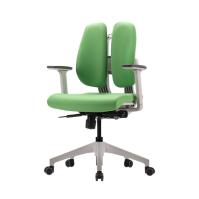 [듀오백2.0] D2-350W 화이트프레임 패브릭 의자