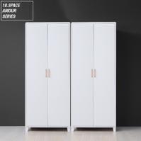 10SPACE 아모르 1600 옷장세트 (싱글+싱글) AM004