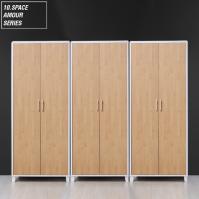 10SPACE 아모르 2400 옷장세트 (싱글+싱글+싱글) AM007