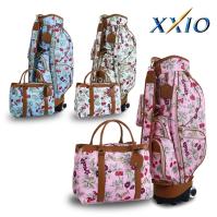 [던롭스포츠코리아 정품] 젝시오 XXIO 여성 FLORAL 패턴 캐디백세트(GGC-1441I)골프가방