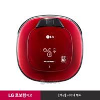 LG 로보킹 터보 로봇청소기 R75AIM (샤이니레드/듀얼 아이)