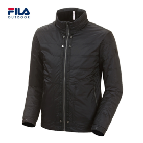 [FILA OUTDOOR] 남성 하이넥 퀼팅 바람막이 집업