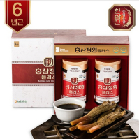 농협 한삼인 홍삼정원플러스 250mlX2병 (쇼핑백포함)