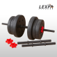 PVC덤벨 YA-1237/14kg 조립/아령/덤벨/바벨/클럽용아령/근력/웨이트/근력/근육/헬스기구