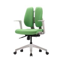 [듀오백2.0] D2-350ZW 화이트프레임 패브릭 의자
