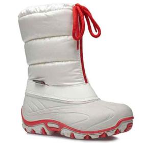 브레산 8590 WHITE-RED 이태리 아동 겨울 방한 패딩 스노우 부츠