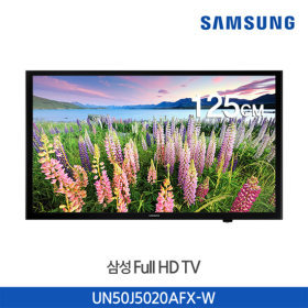 *삼성LED TV UN50J5020AFX-W  (벽걸이형/125cm/Black/Slim Edge 디자인)