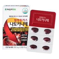 녹십자 혈행플러스 나토키나제 500mg 30정(1개월분)