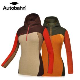 Autobahn 여성 옵티멈후드 티셔츠 / AF4WT643