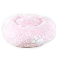 쏘아베 구름방석 핑크(중)-(발바닥,하트)무늬 램덤