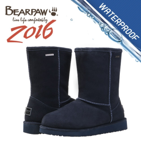 베어파우(BEARPAW) EMMA WATERPROOF NAVY(womens) 621032HD-W