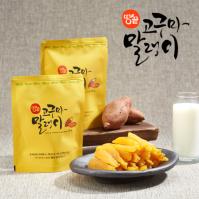 땅끝식품 해남 고구마 말랭이 70gX10봉 (무료배송)