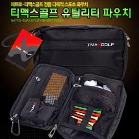 MATRO 티맥스 최고급 골프 파우치백 MASA_05 (다용도수납)