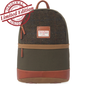 [디얼스] HARRIS TWEED DAYPACK - GREEN