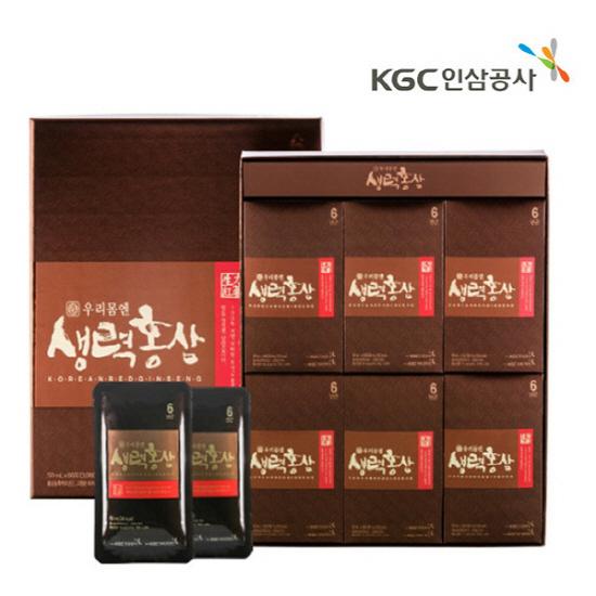 한국인삼공사 생력홍삼 50ml*30포