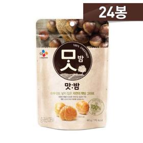 <em class='label_tv'>[TV쇼핑]</em> [기습초특가] CJ 맛밤 24봉 (60g X 24봉)