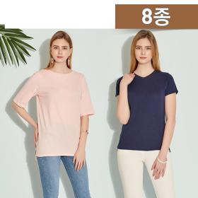 <em class='label_tv'>[방송]</em> 팜스프링스 여성 에센셜 티셔츠 8종