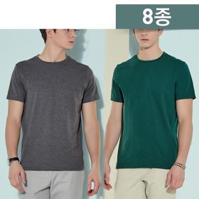 <em class='label_tv'>[방송]</em> 팜스프링스 남성 에센셜 티셔츠 8종