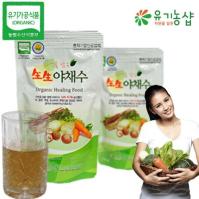 [백세건강] 자연을 담은 유기농 生生 야채수 150ml*90포