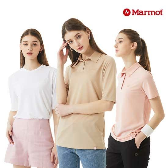 마모트 21여름 여성 카라티셔츠10종