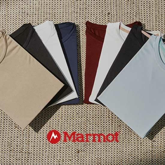 마모트 21여름 여성 티셔츠 8종